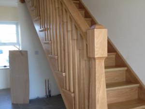 Philip Gaw Polishing Stairs